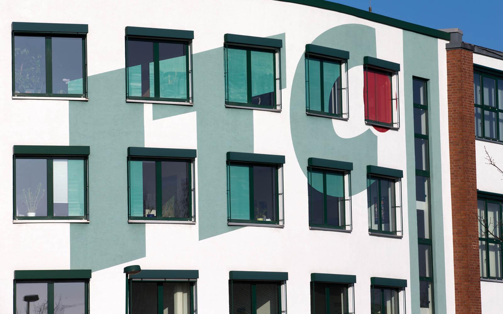 ITC Grafik Design Fassade