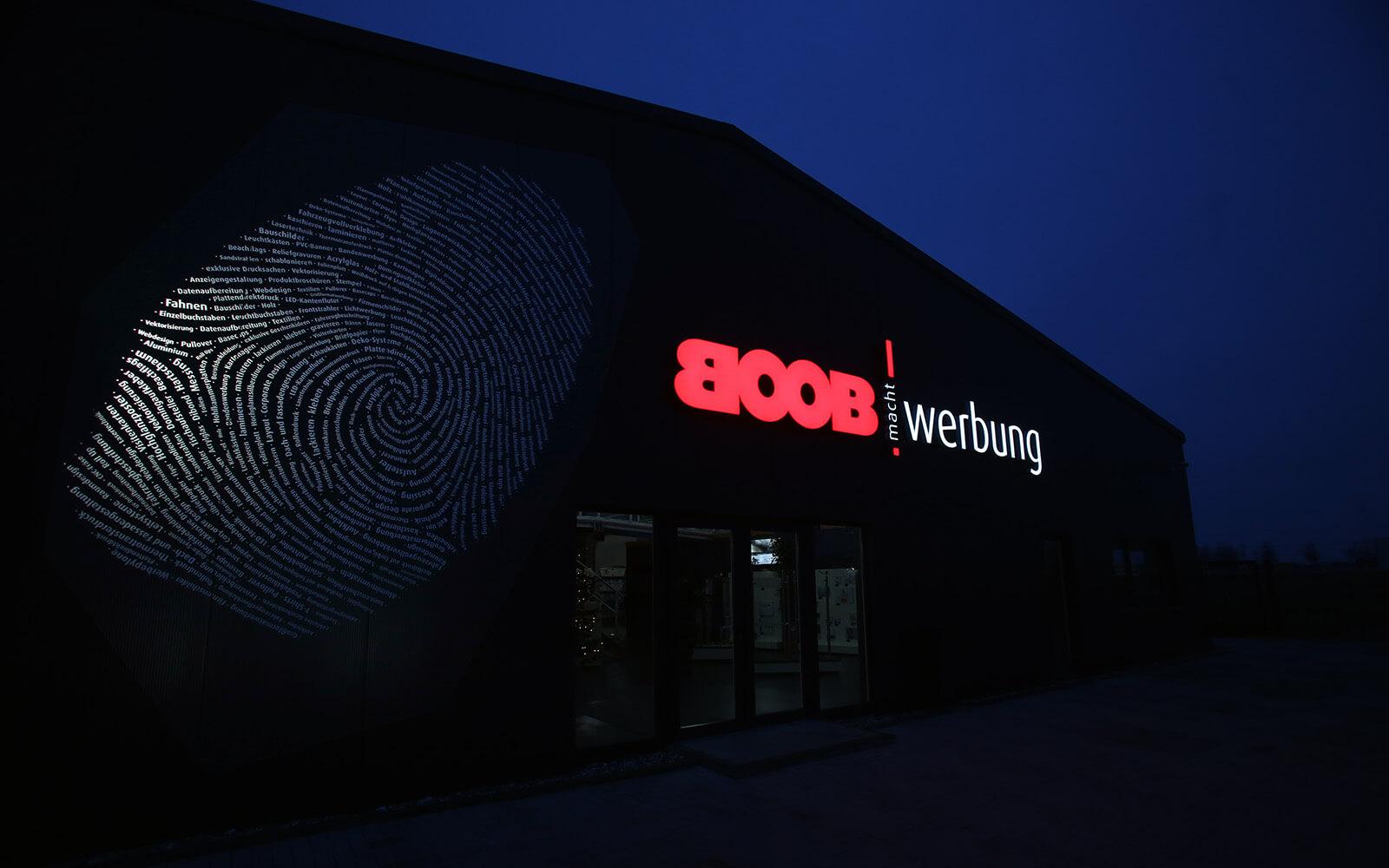 BOOB Werbung Werbetechniker
