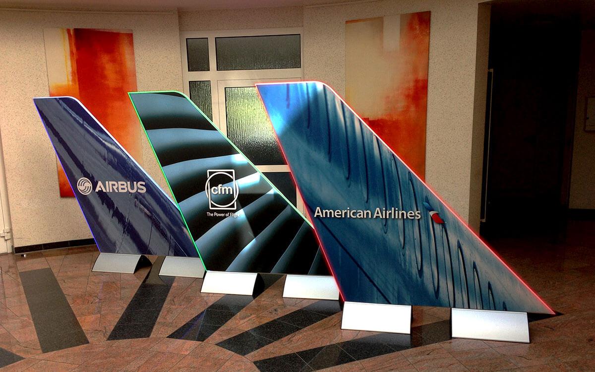 Referenz Airbus Sonderanfertigung