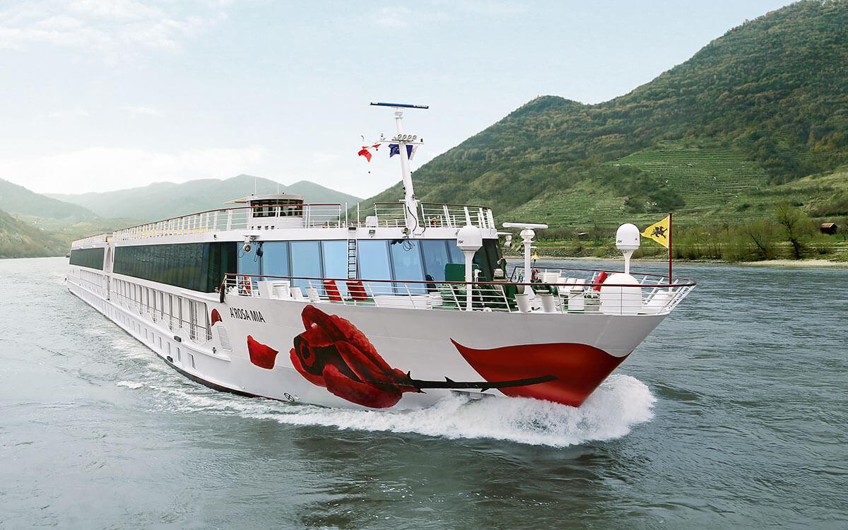 Referenz A-ROSA Schiffsbeschilderungen