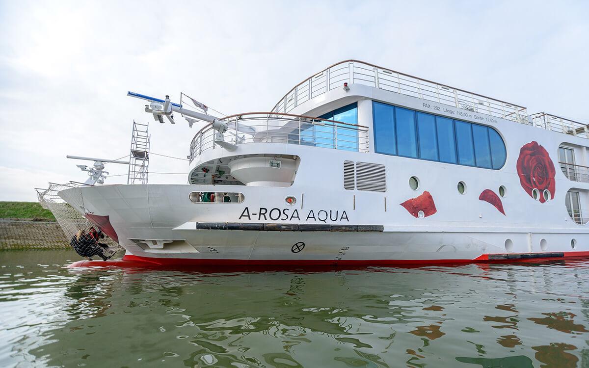 A-ROSA Flussschiffe Außenhaut