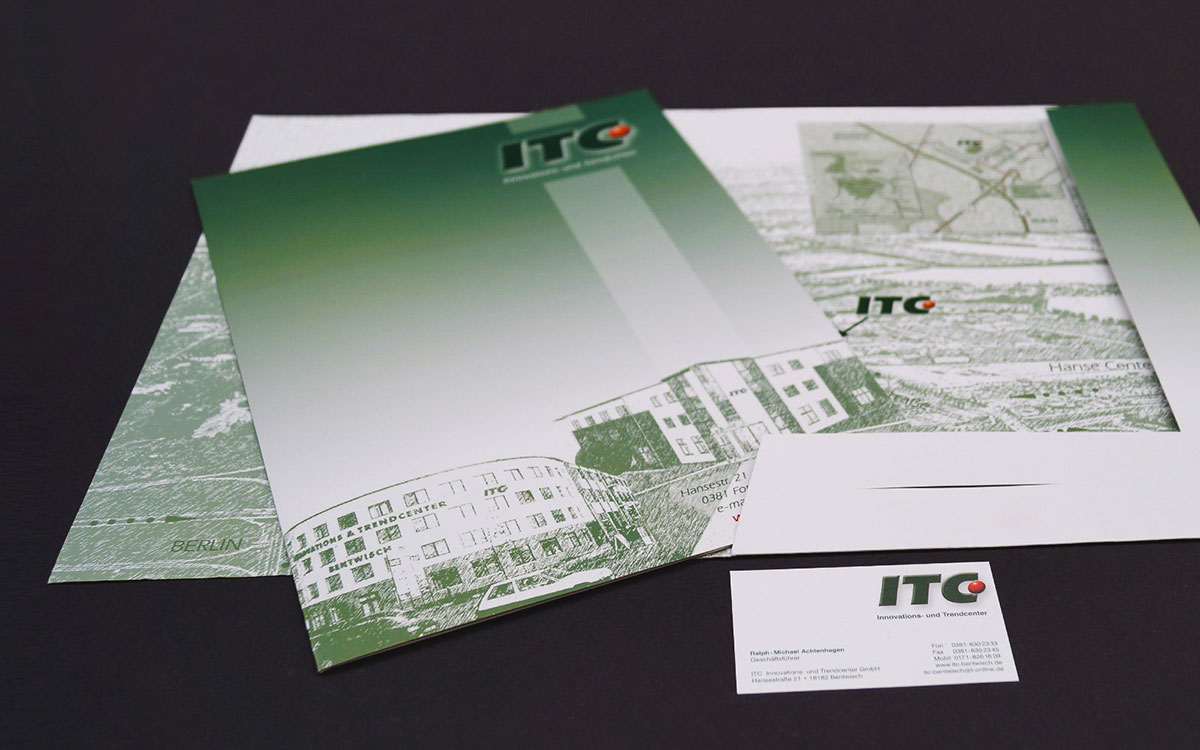 Referenz ITC Grafikdesign